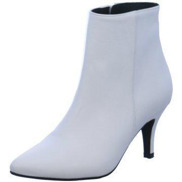 Lazamani Klassische Stiefelette weiß