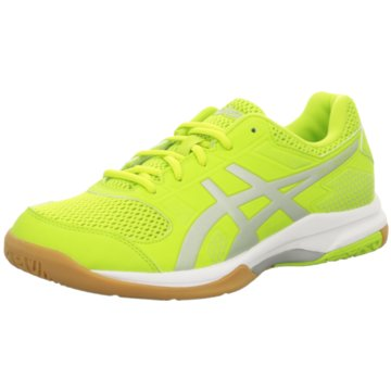 asics Indoor gelb
