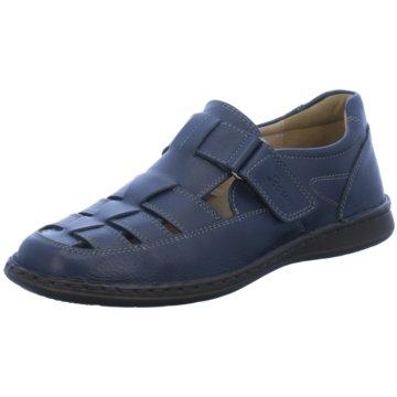 Sioux Komfort Sandale blau