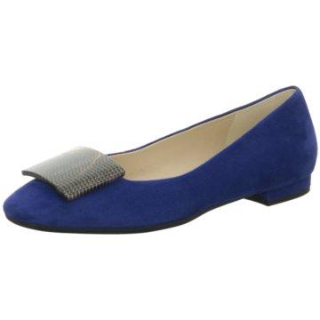 Moda di Fausto Top Trends Ballerinas blau