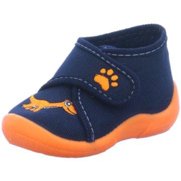Fischer Schuhe Hausschuh blau