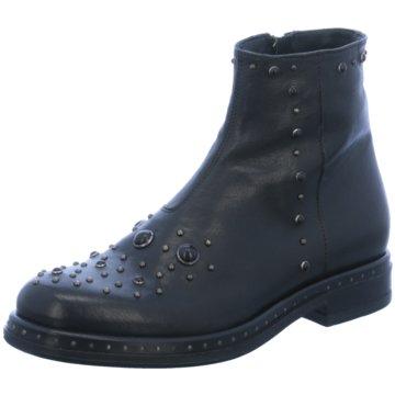 DMN Klassische Stiefelette schwarz