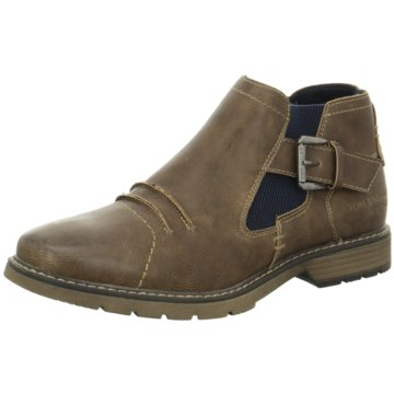 Tom Tailor Chelsea Boot braun