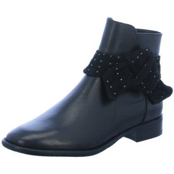 Tizian Klassische Stiefelette schwarz