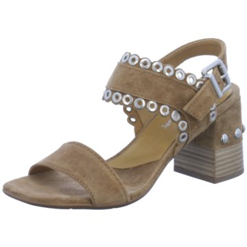 Alpe Woman Shoes Riemchensandalette braun