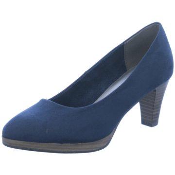 93c45d9fadd0e9 Marco Tozzi Klassischer Pumps blau
