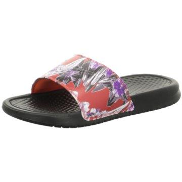 Nike Pool Slides schwarz