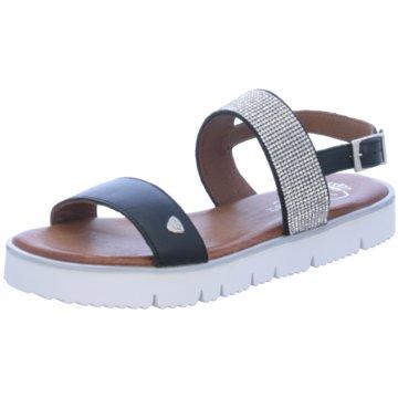 Black Sandale schwarz
