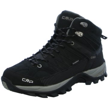 CMP Outdoor SchuhRIGEL MID TREKKING SHOE WP - 3Q12947 schwarz