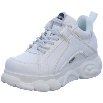 separation shoes 7b835 a5b74 Buffalo Plateau Sneaker weiß
