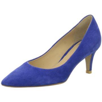 Perlato Klassischer Pumps blau
