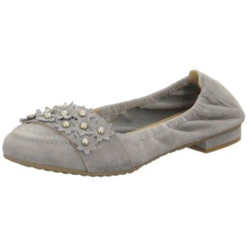 Perlato Klassischer Ballerina grau