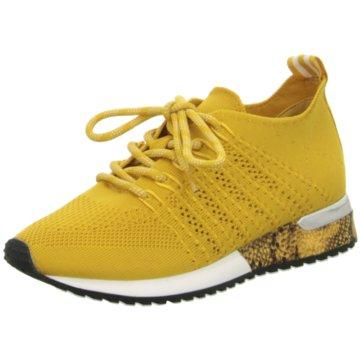 La Strada Sneaker Low gelb