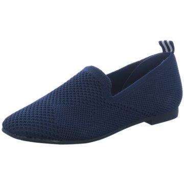 La Strada Slipper blau