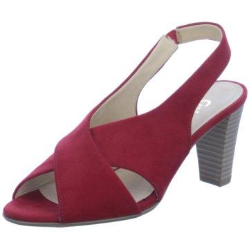Gabor Top Trends Sandaletten rot