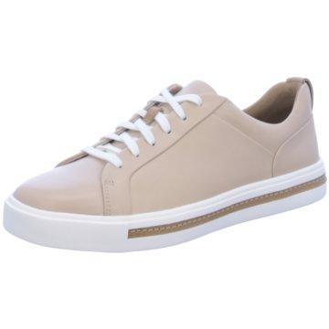 Clarks Sneaker LowHalbschuh beige