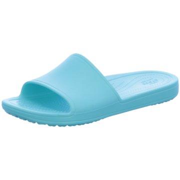 CROCS Pool Slides blau