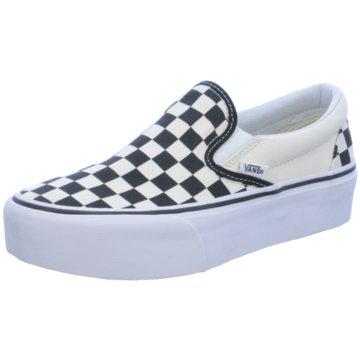 Vans Plateau Sneaker schwarz
