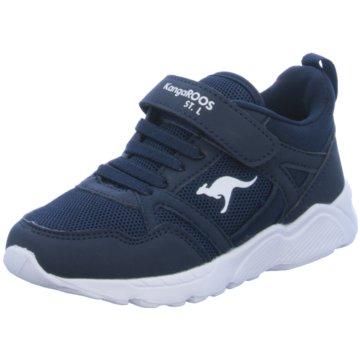 KangaROOS Sportlicher Schnürschuh blau