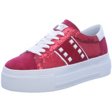 Alpe Woman Shoes Plateau Sneaker rot