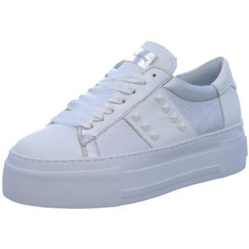 Alpe Woman Shoes Plateau Sneaker weiß