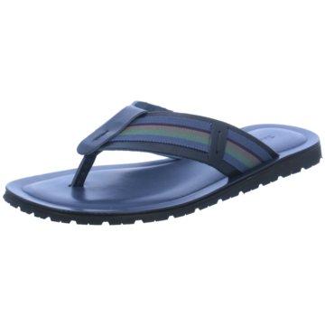 The Sandals Factory Zehentrenner blau