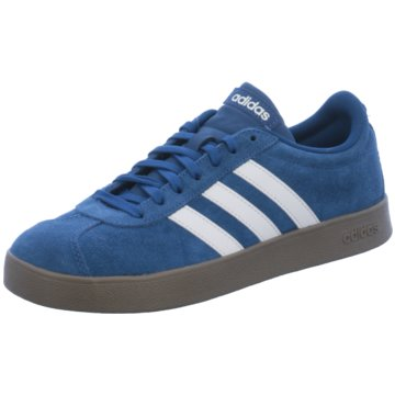 adidas Sneaker LowVL Court 2.0 Suede blau