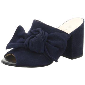 Peter Kaiser Offene Schuhe blau