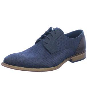 Coxx Borba Eleganter Schnürschuh blau