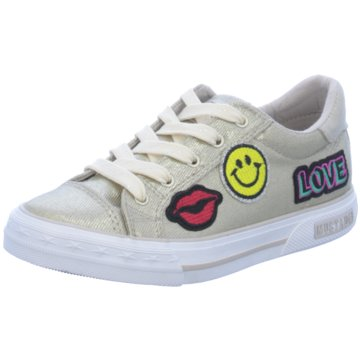 Mustang Sneaker Low gold