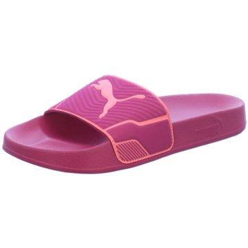 Puma Pool Slides pink