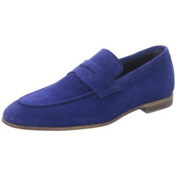 Paco Milan Business Slipper blau