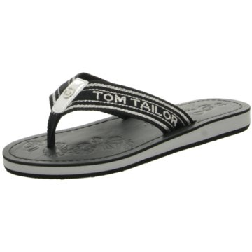 Tom Tailor Pool Slides schwarz