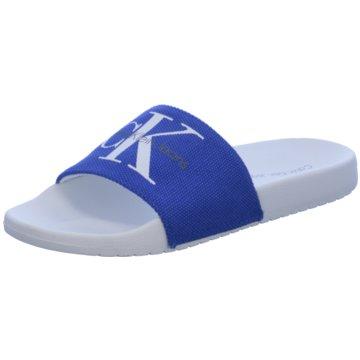 Calvin Klein Badelatsche blau