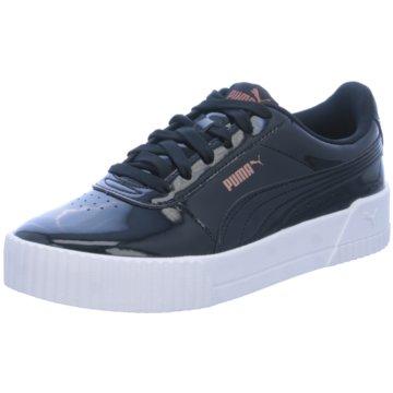 Puma Plateau Sneaker schwarz