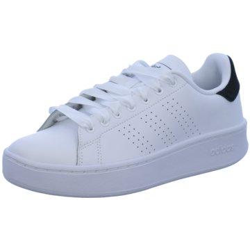 adidas Sneaker LowADVANTAGE BOLD - EF1034 weiß