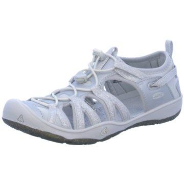 Keen Offene Schuhe weiß