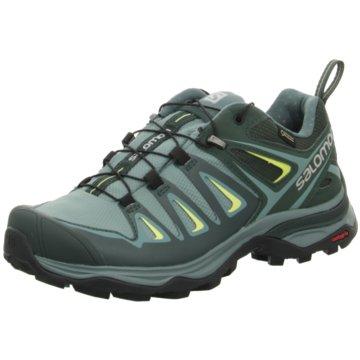 Salomon Outdoor Schuh grün