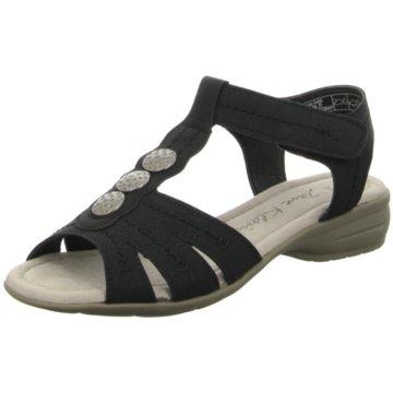 Idana Komfort Sandale schwarz