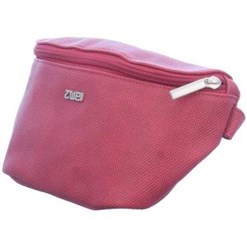 Zwei Taschen Damen rot
