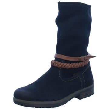 Vado Komfort Stiefel blau