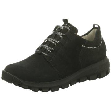 Waldläufer Outdoor Schuh schwarz