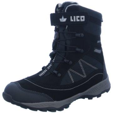 Lico Winterstiefel schwarz