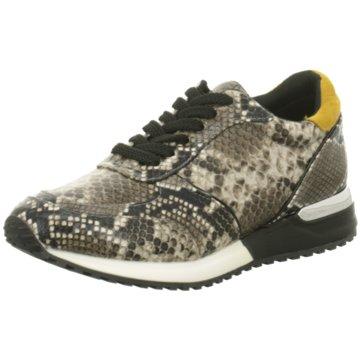 La Strada Plateau Sneaker braun