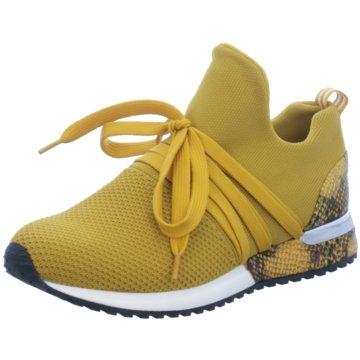 La Strada Sportlicher SchnürschuhSneaker with laces gelb