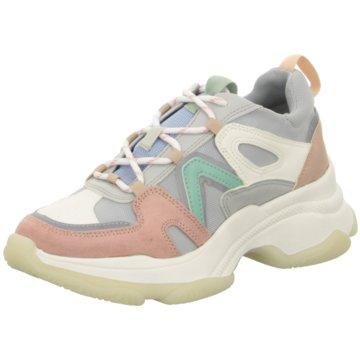 La Strada Plateau Sneaker bunt