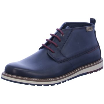 Pikolinos Komfort Stiefel blau