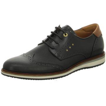 Pantofola d` Oro Klassischer Schnürschuh schwarz