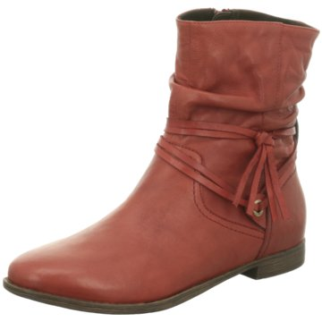 SPM Shoes & Boots Komfort Stiefelette rot