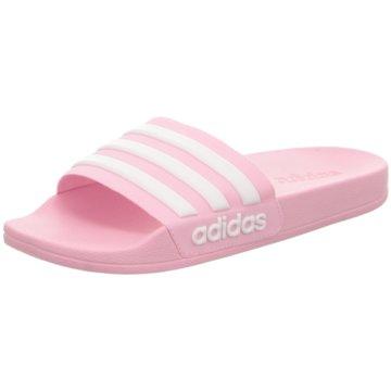 adidas Offene Schuhe pink